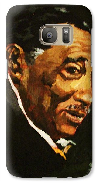 Galaxy Case featuring the painting Duke Ellington by Al Brown