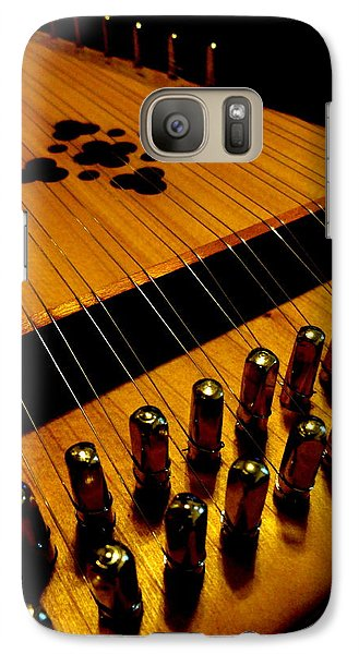 Galaxy Case featuring the photograph Dulcimer by Mary Beth Landis