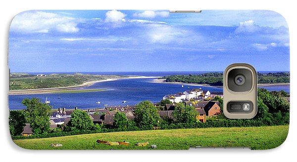 Galaxy Case featuring the photograph Dundrum Bay Irish Coastal Scene by Nina Ficur Feenan