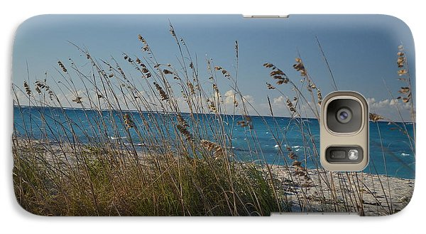 Galaxy Case featuring the photograph Dune Grasses by Judy Wolinsky