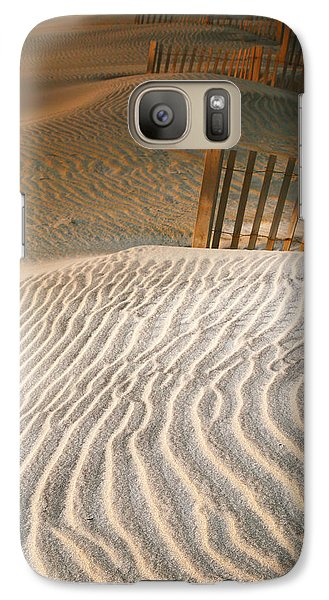 Galaxy Case featuring the photograph Dune Patterns IIi by Steven Ainsworth