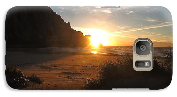 Galaxy Case featuring the photograph Dune Shine by Paul Foutz