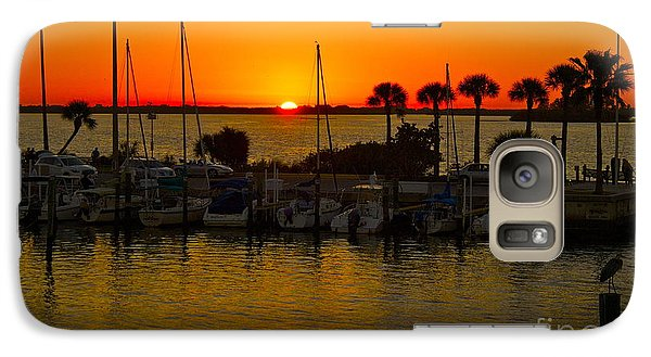 Galaxy Case featuring the photograph Dunedin Sunset by Alice Mainville