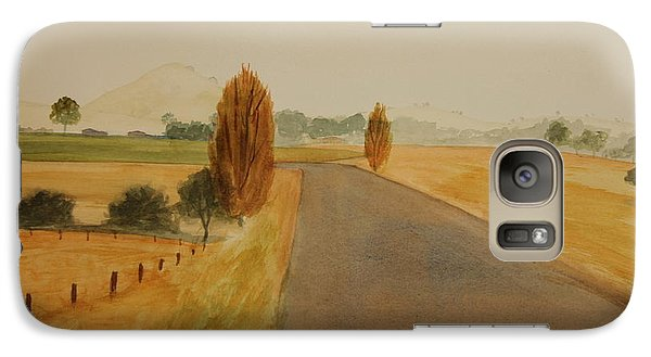 Galaxy Case featuring the painting Dungog Area Nsw Australia by Tim Mullaney