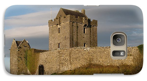 Galaxy Case featuring the photograph Dunguire Castle by Kathleen Scanlan