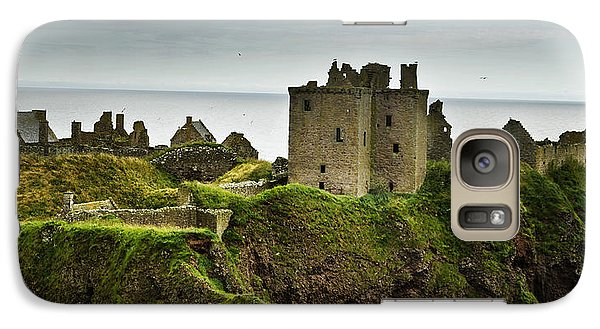 Galaxy Case featuring the photograph Dunnottar Castle Scotland by Sally Ross