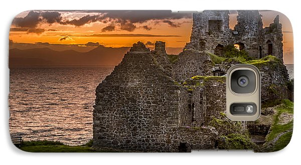Dunure Castle Ayrshire Scotland Galaxy S7 Case