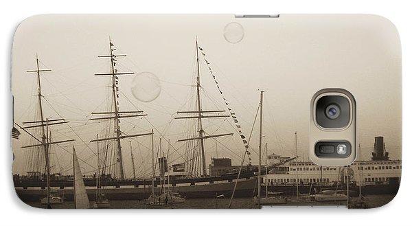 Galaxy Case featuring the photograph Dusk At Fishermans Wharf by Hiroko Sakai