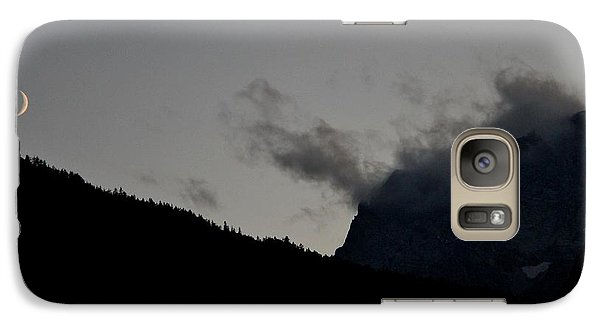 Galaxy Case featuring the photograph Dusk In The Alps by Frank Wickham
