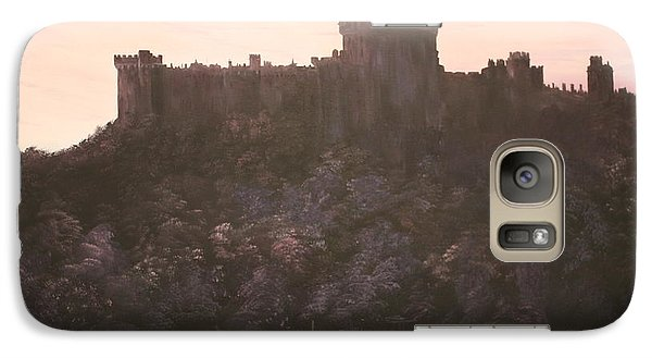 Galaxy Case featuring the painting Dusk Over Windsor Castle by Jean Walker