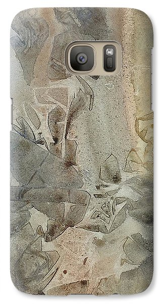Galaxy Case featuring the painting Dust Drift by Rebecca Davis