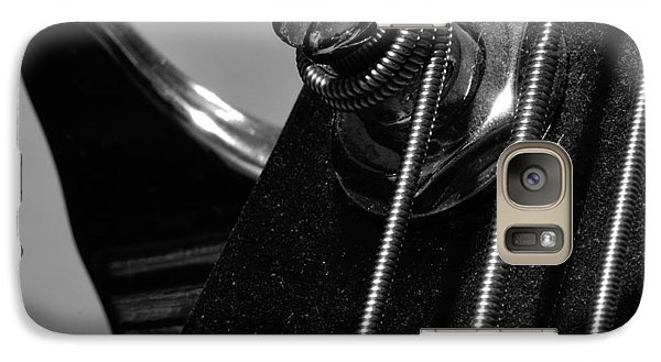 Galaxy Case featuring the photograph Dusty Bass by Todd Soderstrom