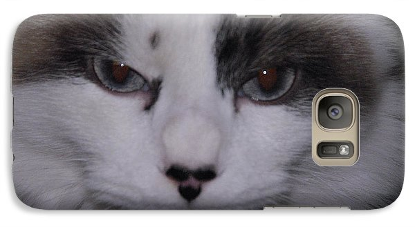 Galaxy Case featuring the photograph Dusty - The Cat's Meow by Robyn Stacey