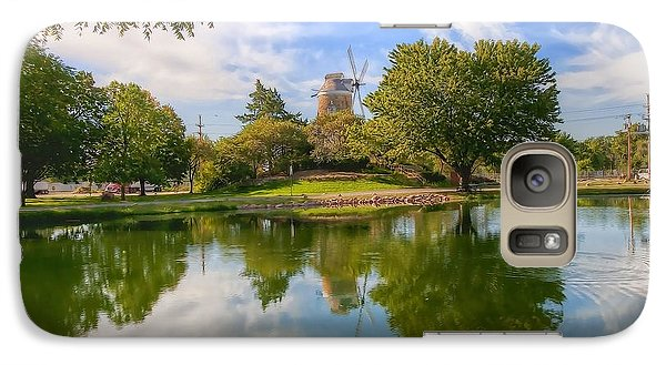 Galaxy Case featuring the photograph Dutch Mill  by Liane Wright