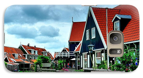 Galaxy Case featuring the photograph Dutch Village by Joe  Ng