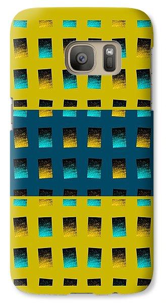 Galaxy Case featuring the digital art Dwell-no3 by Darla Wood