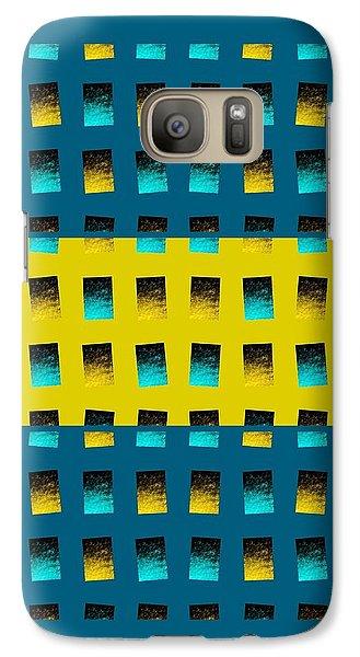 Galaxy Case featuring the digital art Dwell-no4 by Darla Wood