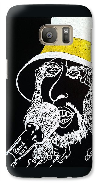 Galaxy Case featuring the drawing Dylan In Concert by Rand Swift
