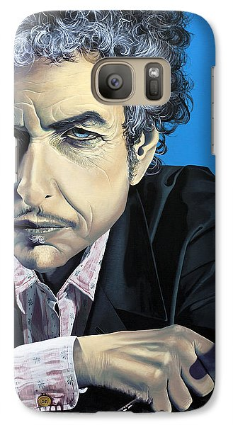 Dylan Galaxy S7 Case by Kelly Jade King