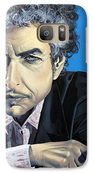 Dylan Galaxy Case by Kelly Jade King