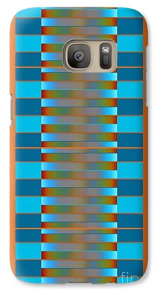 Galaxy Case featuring the digital art Dynamics Fete 1b by Darla Wood