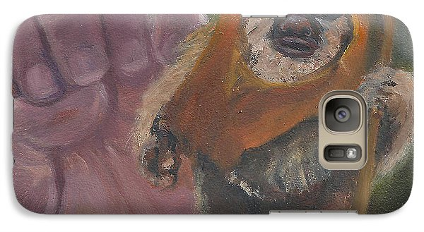 Galaxy Case featuring the painting E Is For Ewok by Jessmyne Stephenson