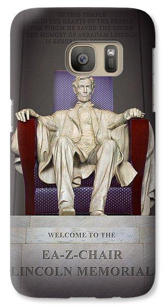 Ea-z-chair Lincoln Memorial 2 Galaxy S7 Case