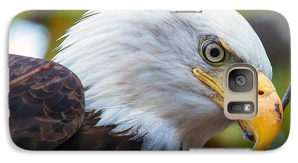 Galaxy Case featuring the photograph Eagle Eye by Alan Raasch
