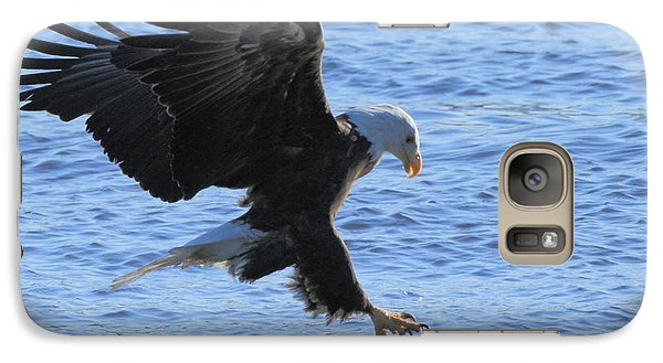 Galaxy Case featuring the photograph Eagle Grab by Coby Cooper
