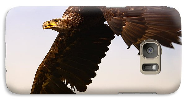 Galaxy Case featuring the photograph Eagle In Flight by Nick  Biemans