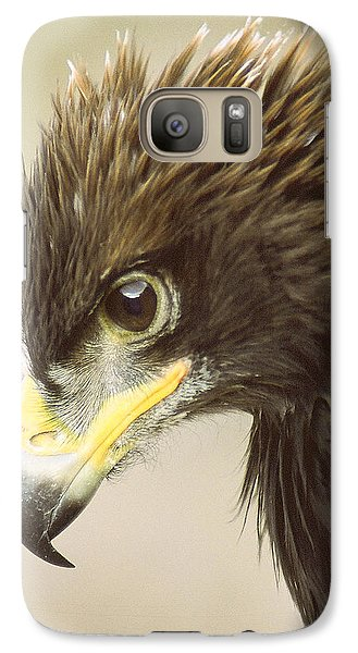 Galaxy Case featuring the photograph Eagle In Profile by Jim Snyder