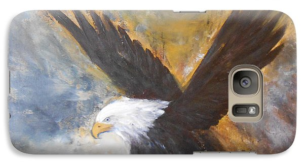 Galaxy Case featuring the painting Eagle Spirit by Jane  See