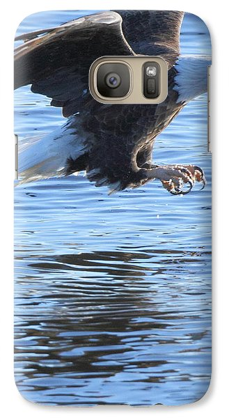 Galaxy Case featuring the photograph Eagle Talons Up by Coby Cooper