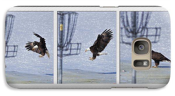 Galaxy Case featuring the photograph Eagle Triptych by Rob Graham