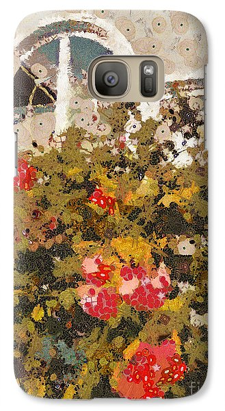 Galaxy Case featuring the photograph Alameda Roses by Linda Weinstock