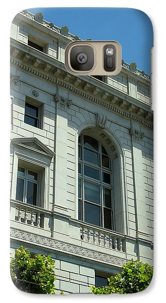 Galaxy Case featuring the photograph Earl Warren Building - San Francisco by Connie Fox