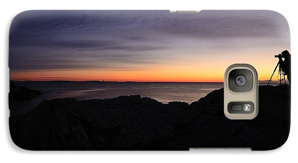 Galaxy Case featuring the photograph Early Bird by Paul Noble