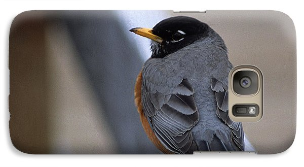 Galaxy Case featuring the photograph Early Bird by Sharon Elliott