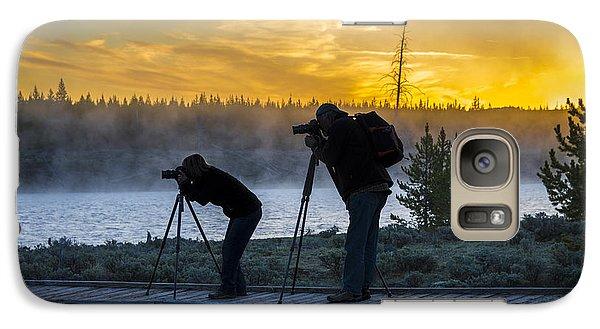 Early Birds Yellowstone National Park Galaxy S7 Case