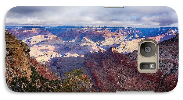 Galaxy Case featuring the photograph Early Clouds Over Hopi Point by Lisa  Spencer
