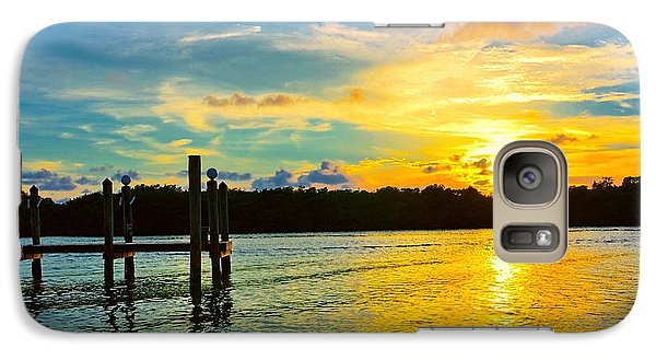 Galaxy Case featuring the photograph Early Evening On Sombrero Beach by Pamela Blizzard