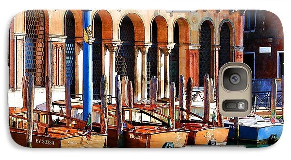 Galaxy Case featuring the digital art Early Evening Venice by Brian Davis