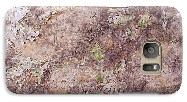 Galaxy Case featuring the mixed media Early Fall by Michele Myers