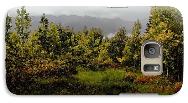 Galaxy Case featuring the photograph Early Fall On Kebler Pass by Ellen Heaverlo