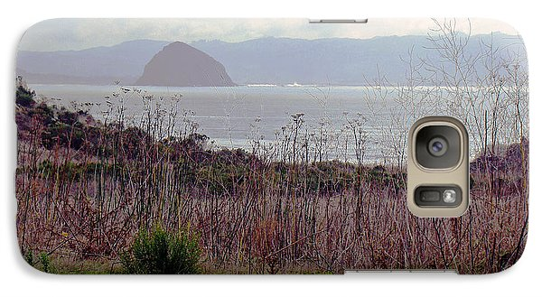 Galaxy Case featuring the photograph Morro Bay Early Morning by Walter Fahmy