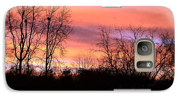 Galaxy Case featuring the photograph Early Morning Color Canvass by Wanda Brandon