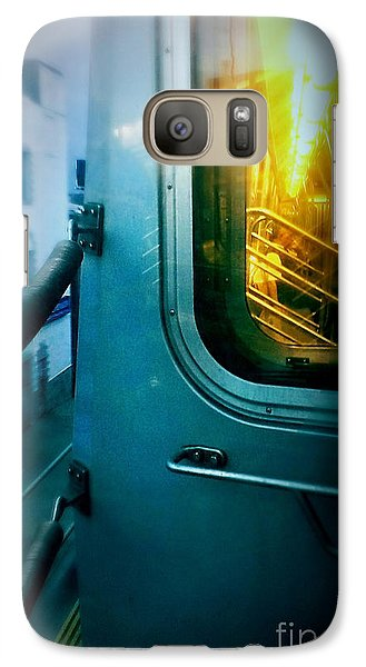 Galaxy Case featuring the photograph Early Morning Commute by James Aiken