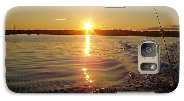 Galaxy Case featuring the photograph Early Morning Fishing by John Telfer
