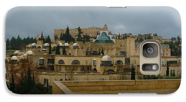 Galaxy Case featuring the photograph Early Morning In Jerusalem by Doc Braham