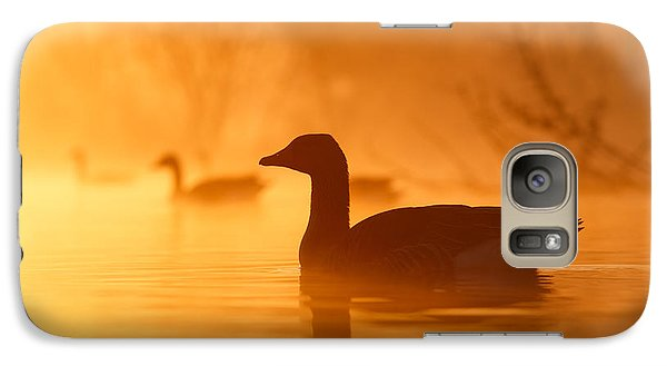 Geese Galaxy S7 Case - Early Morning Mood by Roeselien Raimond
